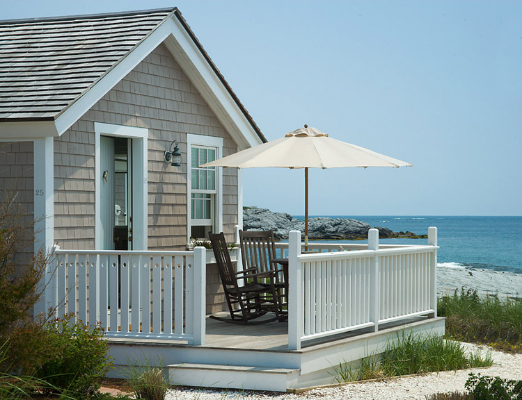 Beach house design sensibility for New england beach house plans