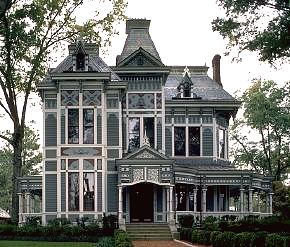 Victorian design sensibility for Victorian stick style house plans