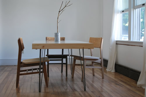 I Love The Simplicity Of This Awesome Dinner Table