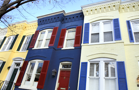 Inside And Out Painted Brick Houses Design Sensibility