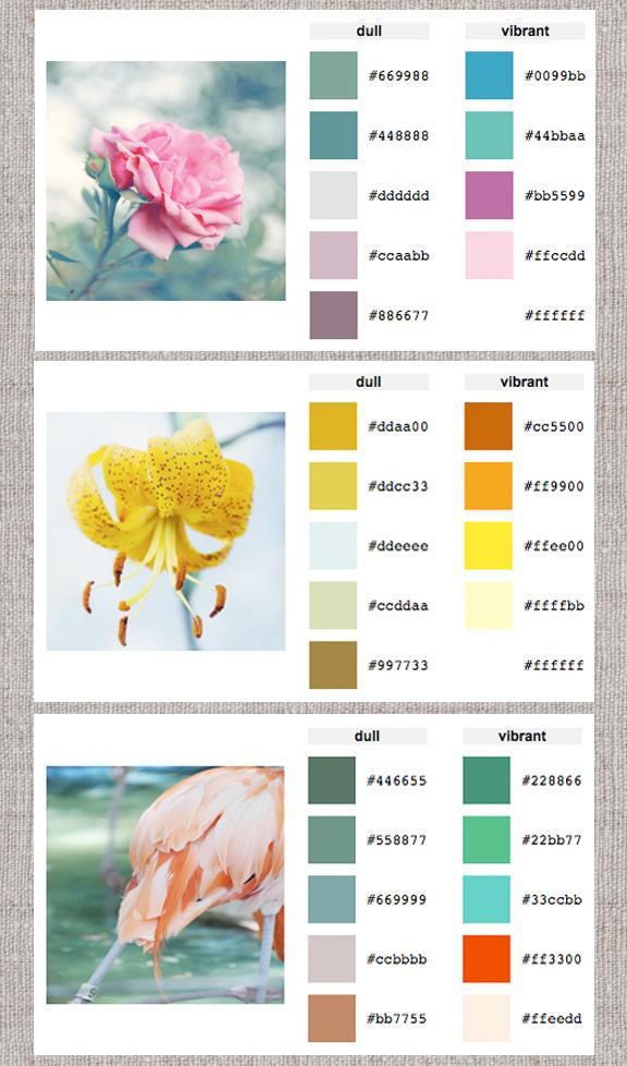 January 2012 design sensibility page 2 - Living room color palette generator ...