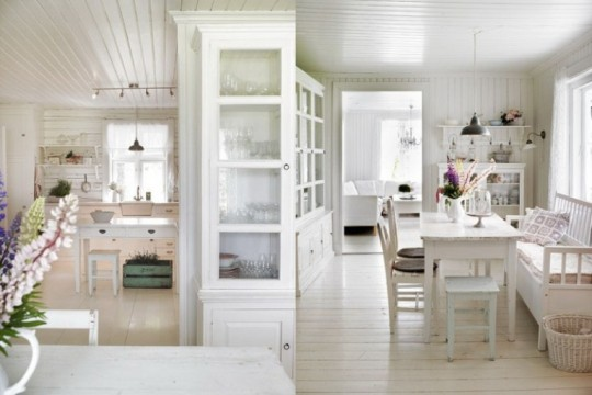 Places and spaces white rooms design sensibility for Room design 360